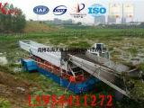 水生漂浮植物打捞机械 河道保洁船 全自动水葫芦割草船