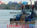 水葫芦打捞船 水面垃圾打捞设备 水草打捞船 芦苇收割机械