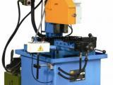 油压金属圆锯机 铁路钢管切割机 油压半自动钢管切割机