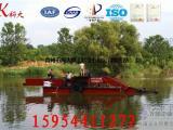 中小型湖泊割草船厂家 河道水葫芦收割运输设备 清理船
