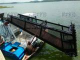 清漂打捞船 水上除草环保机械 全自动割草运输船