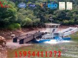 湖区收割水葫芦设备 江河保洁船 水上割草船