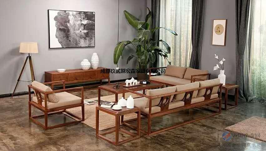 定做新中式禅意家具