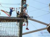 历奇探险-高空网阵立柱空中探险乐园