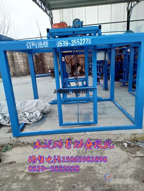 空心砖叠板机生产