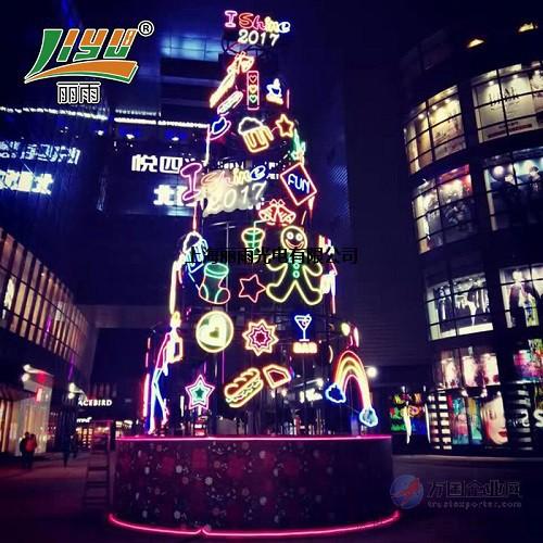 上海标识标牌圣诞树