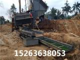 移动选沙金设备、沙金选取机械、旱地采金设备