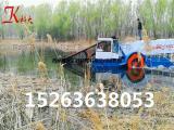 水花生打捞机械、河道水花生收割船、割草船功能