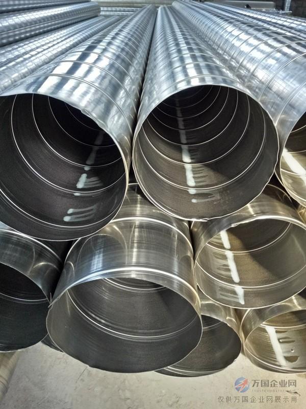 按截面形状,风管可分为圆形风管,矩形风管,螺旋风管生产厂家,扁圆风管