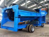 移动淘金车 旱地移动采金机械 砂金矿采金设备 河沙选金机械