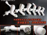 云塑外贸热销款塑料PP接驳水龙头 不锈钢接驳嘴