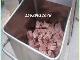 厂家直销不锈钢料斗车 四轮移动肉料车价格