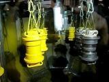 disk涂装机自动静电喷涂机厦门博士达旋杯静电涂装机