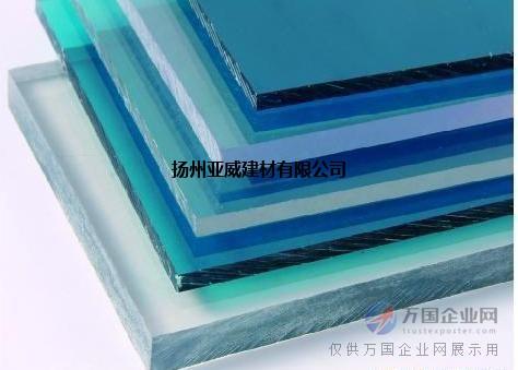 厂家优质工程塑料板-PC耐力板PC阳光板