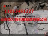 贵州黔东南资阳矿山开采岩石劈裂机全自动混凝土劈裂机柴油型