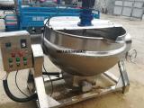厂家直销搅拌夹层锅 肉制品蒸煮设备 食品不锈钢电加热夹层锅