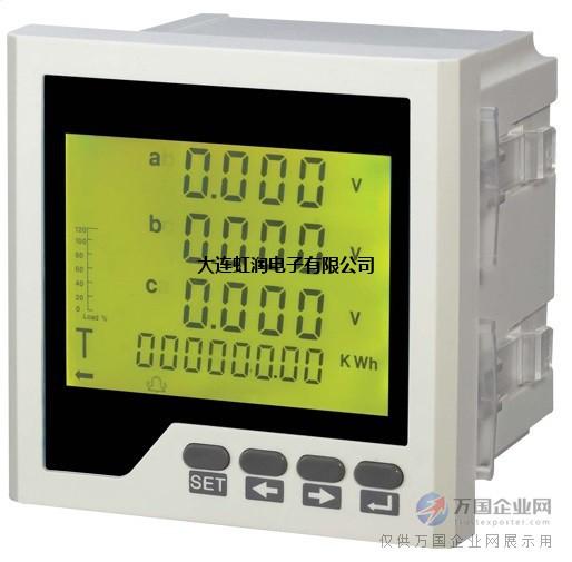 HD-3AV三相数显电压表/三相电压表/数显三相电压表