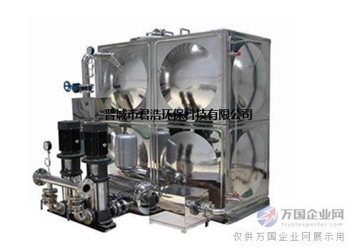 定制无负压供水设备 不锈钢箱式无负压供水设备直销