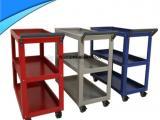 热搜工具柜 现货厂家定制双抽工具柜 多款环保喷塑