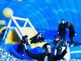 充气大鲸鱼气模出租价格蓝色鲸鱼岛互动乐园租赁