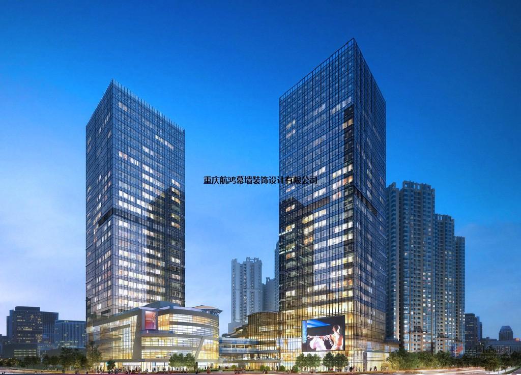 重庆綦江区外墙翻新|綦江区幕墙改造|设计安装重庆航鸿幕墙公司