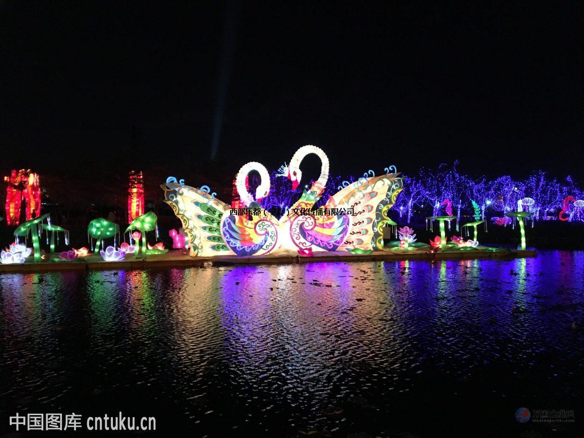灯光节陪伴我们过了一个美好的新年梦幻灯光节出租