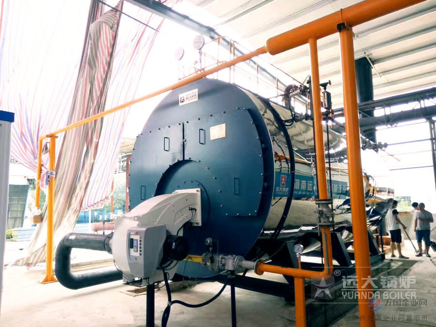 10吨天然气蒸汽锅炉900