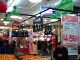 超市专用吊灯价格优惠 超市吊灯装修定制厂家供应