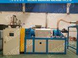 PE-PP薄膜半塑化拧干造粒机 农地膜强力挤干切粒机设备