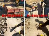 宁夏中卫混泥土拆除分裂器涵洞开挖劈裂机