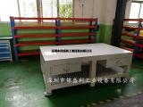 45#钢板钳工工作台,深圳钢板钳工装配台生产厂家