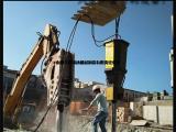 矿石开采钩机打不动静态分石机裂石器产品