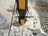 辽宁海城液压岩石解体柱塞式分裂棒