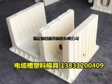 电缆槽塑料模具尺寸规格