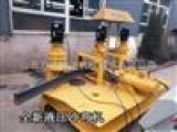 新疆图木舒克175×175H型钢折弯机