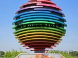 不锈钢景观球_不锈钢镂空球雕塑_抽象花纹球【伊甸园】
