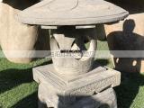 青石石灯雕刻庭院家居摆放石雕石灯笼摆件