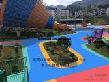 游乐园彩色地坪 水上乐园游泳池刷漆 儿童乐园彩色防滑涂料