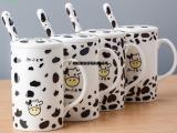 奶牛杯 创意陶瓷奶牛杯形状 奶牛礼品杯 牛奶杯 时尚杯