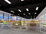 重庆茶园办公室装修 办公楼装饰装修 办公空间装饰设计