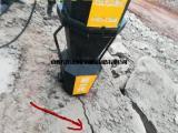 机载式分石机挖机带动式岩石裂石机大型机载式开石器