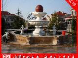 精美石材风水球订做 汉白玉风水球 风水球喷泉加工