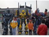 天津博创恒达真人穿戴变形金刚机器人舞台道具服装厂家销售