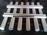 供应白色凸槽吊管,木纹吊槽铝圆管