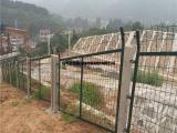 铁路专用防护栅栏/浸塑铁路护栏网/铁路封闭安全隔离围栏网