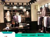 服装店男装展示柜形象柜定制时尚品牌服装货架品牌店装修设计
