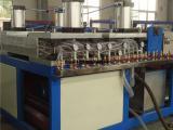 PP中空塑料建筑格子板生产线