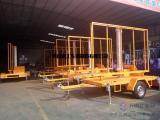 1吨LED升降广告拖车