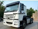 中国重汽6x4 371马力豪沃牵引车出口