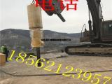 辽宁鞍山大型劈裂机施工方案 现场图片